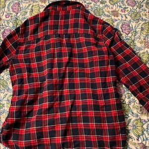 Hollister Tops - Red and blue flannel